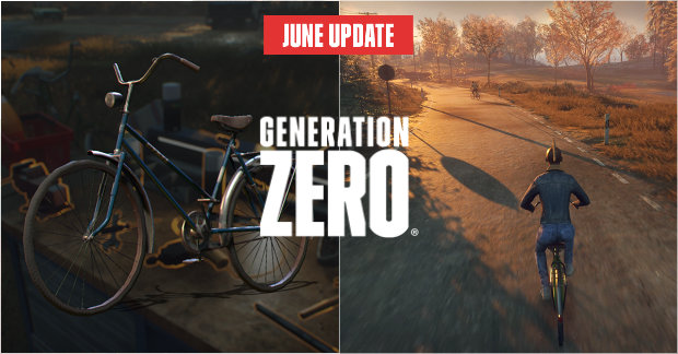 Generation Zero - June Update (Bikes)