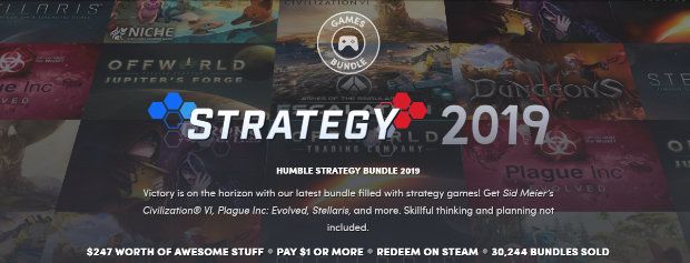 Humble Strategy Bundle 2019