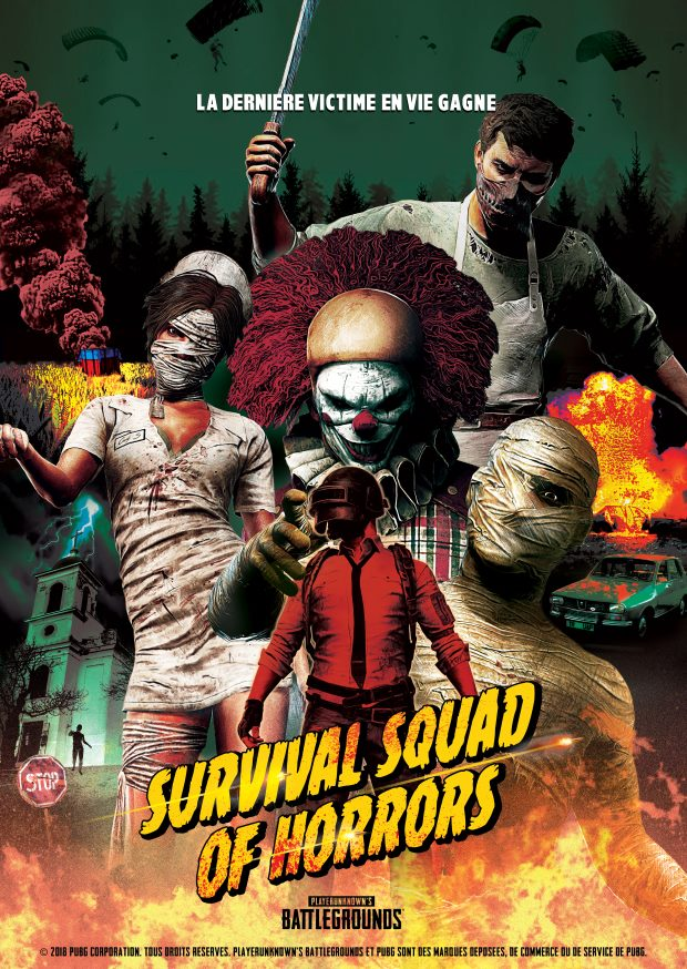 PUBG Survival Squad of Horrors Poster