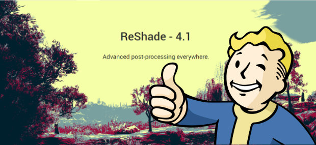 Reshade 4.1 by Fallout Boy