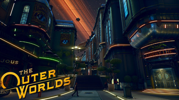 The Outer Worlds - Byzantium Cityscape