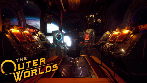 The Outer Worlds - Playership Cockpit